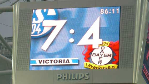 Schalke Leverkusen 7:4