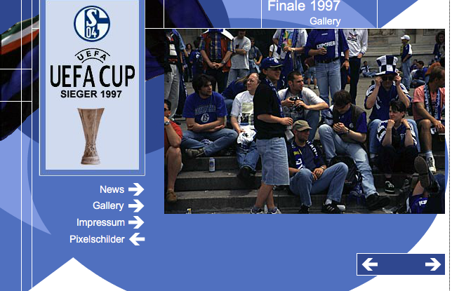 UEFA CUP SIEG 1997